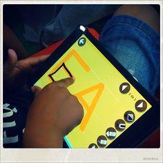 Juegos para aprender a leer y escribir silabas para niños desde 4 años en smartphones, tabletas, ordenadores y fichas de papel.