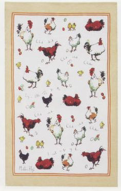 Chick Chick Chicken - Ulster Weavers Linen Tea Towel