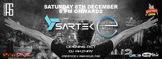 Atmosphere6 DJ SARTEK B&W _ front crowd