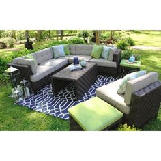 Sam's Club - Canyon Sectional with Premium Sunbrella® Fabric