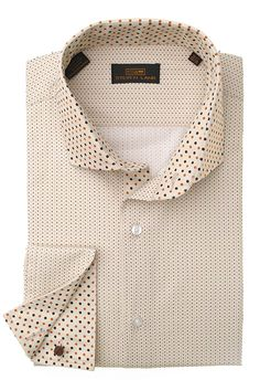 Steven Land Dress Shirts  DS1247 | Brown $69 #StevenLand #Style