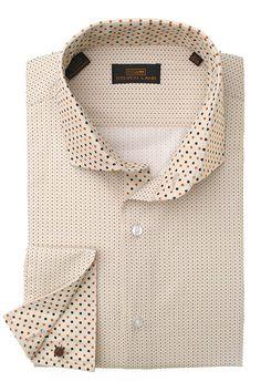 Steven Land Dress Shirts  DS1247 | Brown $69 #StevenLand #Style