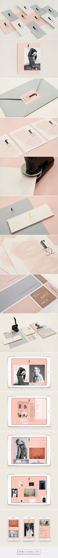 F32 identity created by Blok Design - Rain Creative... - a grouped images picture - Pin Them All