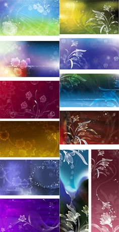 Nature Vector Backgrounds