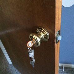 Here is how to safely lock up medications at home: medication lock boxes, cabinets, and storage. House Tweaking, Medicine Storage, Lock Up, Binder, Door Handles, Medical, Hacks, Bedroom, Home