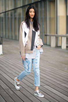 Hot in Heels » Hoe combineer je metallic schoenen?