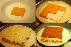 Ingrédients : 2 paquets de biscuits petits beurres 2 bananes coupées en rondelles 1 verre de lait + 1 cuillère à café de vanille (ou du café) De la crème chantilly (ou de la crème pâtissière) Des fruits secs en poudre (facultatif) Les étapes : Trempez vos biscuits dans le lait parfumé vanille et alignez-les …