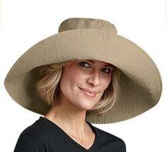Coolibar Women s Wide Brim Beach Summer Sun Hats Wide Brim Sun Hat 847295f466