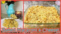 Baked Macaroni & Cheese Recipe! ❤ Gluten Free & Vegan