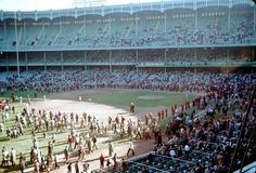 Old Yankee Stadium (Fans allowed on field after game)