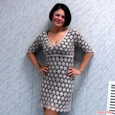crochet  dress ...horgolt ruha