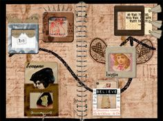 Image detail for -Art Journal: Beyond - Digital Scrapbook Place Gallery