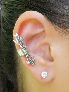 Hunger Games Inspired Quiver And Arrows Ear Cuff por martymagic