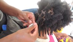 Stylist Creates Instant Locs From Loose Natural Hair Using Just 3 Tools  Read the article here - http://www.blackhairinformation.com/general-articles/hairstyles-general-articles/stylist-creates-instant-locs-from-loose-natural-hair-using-just-3-tools/
