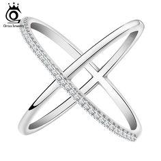 Encontrar Más Anillos Información acerca de 2015 el más nuevo diseño anillo infinito con 36 unidades Micro pavimentada CZ anillo mujeres moda venta al por mayor OR66, alta calidad anillo fino, China anillo de la cadena Proveedores, barato anillo de imitación de Orsa Jewels en Aliexpres
