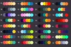 now i open 2 list of palettes! i have 3 2 requests in 1 list and will finish them! Palette Art, Colour Pallette, Colour Schemes, Color Combos, Color Palette Challenge, Color Script, Art Prompts, Colour Board, Art Challenge