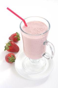 Gluten-Free Strawberry Coconut Smoothie
