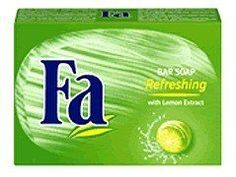 Fa Caribbean Lemon Refreshing Bar Soap 125 g by Abercrombie & Fitch. $1.79