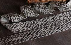 Tablet woven trim by Laura Caldirola on Etsy