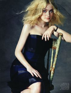 Dakota Fanning makeup by Erin Ayanian Monroe and manicure by @Tracey Sutter for Cloutier Remix