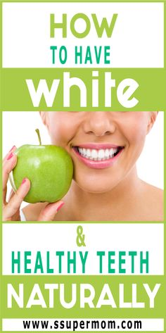 """Commercial toothpaste is not the only way to clean your teeth. Teeth whitening is possible by using """"home"""" items that also clean teeth thoroughly. Since these natural ingredients are found at home, they are very Teath Whitening, Home Remedies Beauty, Stronger Teeth, Stained Teeth, Foods With Calcium, Best Oral, Healthy Teeth"""