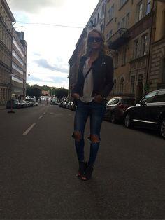 Fredags flygoutfit dasha.devote.se // street style