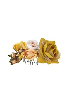 Peineta floral novias e invitadas