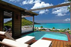 Hermitage Bay Antigua, a luxury resort in the Caribbean