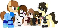 So awesome! Sky's cutie mark would totally be butter, Bodil's is definitely TNT, Deadlox would have... a left foot! XD
