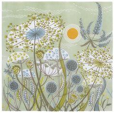 Angie Lewin - Green Meadow | Flickr: partage de photos!