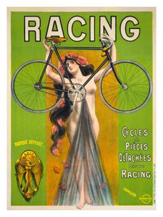 Vintage Old Transport Poster Olympic Cycles 1880 Print Art A4 A3 A2 A1