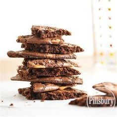 Toffee-Topped Brownie Brittle from Pillsbury® Baking