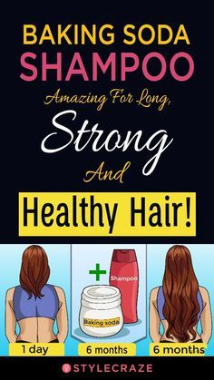 Baking Soda Shampoo: Amazing For Long, Strong, And Healthy Hair!