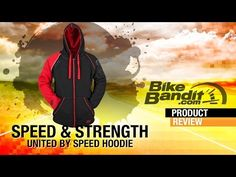 Speed and Strength United By Speed Armored Motorcycle Hoodie at BikeBandit.com - YouTube