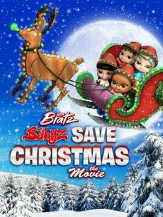 Bratz: Babyz Save Christmas DVD, The Bratz Babyz are back and cuter than ever in this delectably sweet Christmas adventure about power of friendship and positive attitude. When a trip to the mall with Gran leads to a shocking discovery that Santa won't be able to 'deliver' this Christmas, things aren't so bright for Cloe, Sasha, Jade, and Yasmin. Now it's up to the girlz to find the North Pole, train to be elves, and stop a trio of bumbling bandits from stealing a very special Christmas…