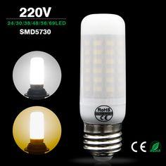 $1.41 (Buy here: https://alitems.com/g/1e8d114494ebda23ff8b16525dc3e8/?i=5&ulp=https%3A%2F%2Fwww.aliexpress.com%2Fitem%2FE27-E14-SMD-5730-lampada-led-bulb-220V-Milky-cover-LED-Lamp-24-30-38%2F32730984780.html ) Lamparas Led Bulb E27 Bombillas Led E14 220v Smd 5730 Ampolletas Led High Power Milky Cover Led Lampen Replace E27 Edison Bulb for just $1.41