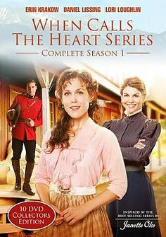 When Calls the Heart: The Complete First Season - DVD | 10 DVD Collectors Edition | Available at ChristianCinema.com
