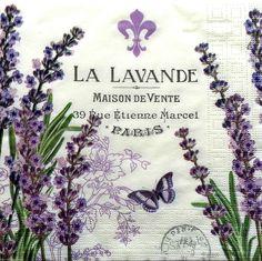 lavender and text Decoupage Vintage, Vintage Diy, Vintage Labels, Vintage Cards, Vintage Paper, Vintage Pictures, Vintage Images, Lavender Crafts, Lavender Soap