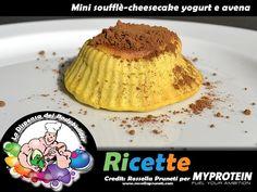 Mini-soufflé Cheesecake yogurt e avena