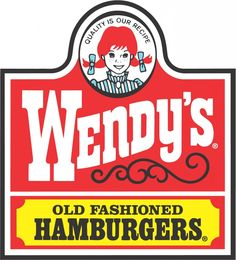I really like this logo. The Wendy's logo gives me an old fashioned feel; not just because it says old fasioned hamburgers. The light red, yellow and white colour as well as the font makes Wendy's look like an old company as well as the black swirls below the Wendy's logo.