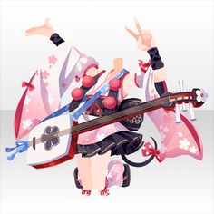 SHOW BY ROCK!! 徒然なる操り霧幻庵|@games -アットゲームズ- Cosplay Outfits, Anime Outfits, Chibi Hair, Japon Illustration, Anime Dress, Cocoppa Play, Fashion Design Drawings, Drawing Clothes, Boy Art