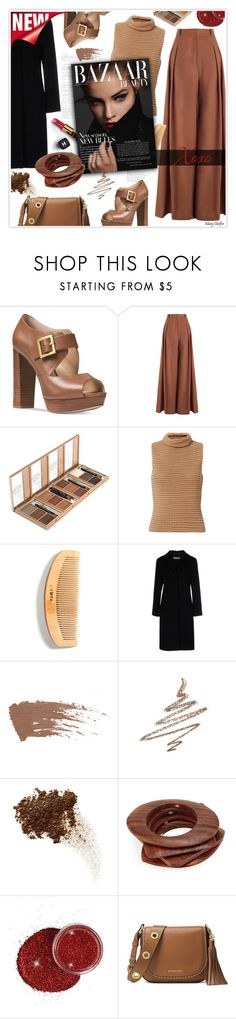 """""""Best of September"""" by mcheffer ❤ liked on Polyvore featuring Michael Kors, Zimmermann, Exclusive for Intermix, Jil Sander, Chanel, Anastasia Beverly Hills, Kenneth Jay Lane, MICHAEL Michael Kors, platforms and camel"""