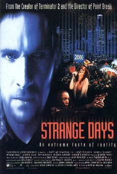 """Dystopian Movies   Strange Days - """"Strange Days takes us to a dystopian world at the end of the 20th century. The exact date is December 30, 1999. The millennium countdown has begun. """" >>>Read more here: http://www.explore-science-fiction-movies.com/strange-days.html#ixzz2W6M9rlm9"""