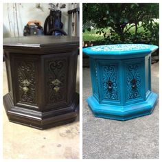 Octagon Table Upscaled On Pinterest Table End