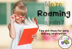 Ideas for Roaming Around the Known in Reading Recovery. Perfect for early lessons with emergent readers, title I, homeschool or reading intervention Reading Intervention Activities, Reading Tutoring, Reading Strategies, Teaching Reading, Guided Reading, Emergent Literacy, Early Literacy, Emergent Readers, Co Teaching