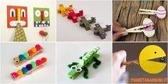 Ecco a voi 20 lavoretti con le mollette di legno per bambini, tutte idee molto creative per realizzare oggetti simpatici usando le mollette da bucato