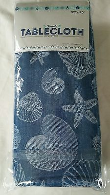 Good NEW IN PACK COASTAL TABLECLOTHS, 52 X 90, 2 STYLES In Home U0026 Garden,  Kitchen, Dining U0026 Bar, Linens U0026 Textiles | EBay | EBAY ALL THE WAY!!!