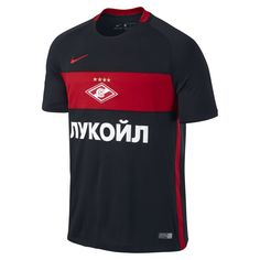 56674f3ae 2016 17 Spartak Moscow Stadium Home Away Men s Football Shirt - Black Men s  Football