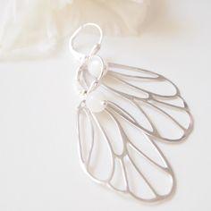 White Wings - Flügel in Weißgold