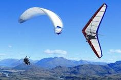 paragliding or paraponting - mmm - decisions decisions...